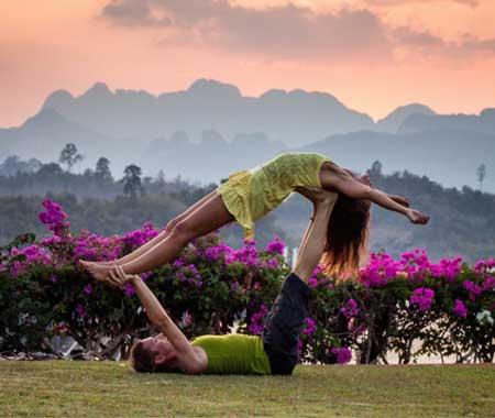 links between vegan diet, meditation and yoga